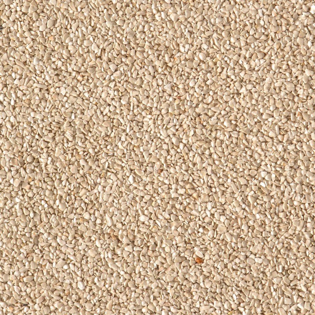 Gravel Marble - krémová (Botticino) - Frakce 3/5