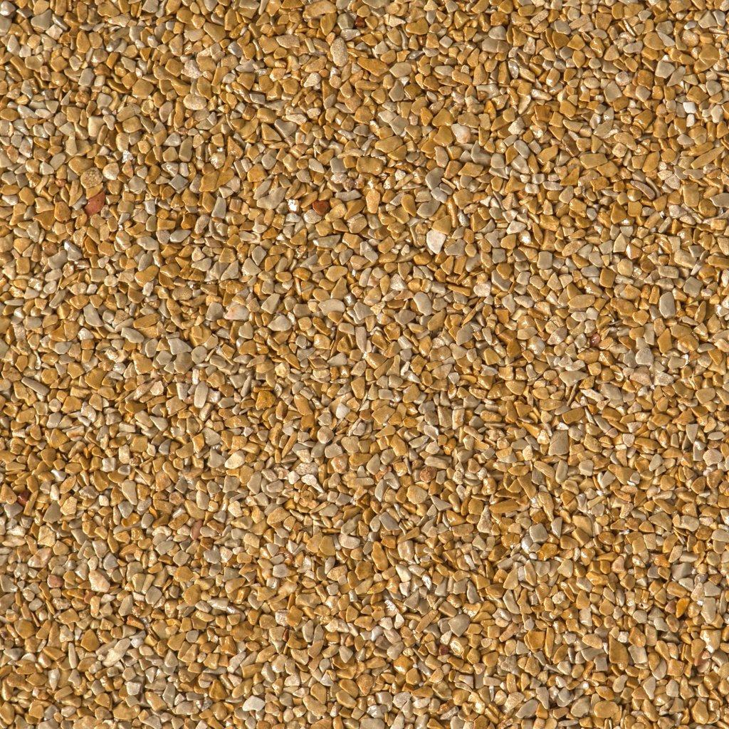 Gravel Marble - žlutohnědá (Giallo Mori) - Frakce 3/5