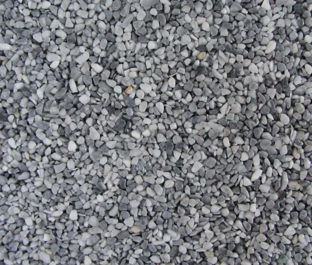 Gravel Marble - světle šedá (Bardiglio) - Frakce 5/8