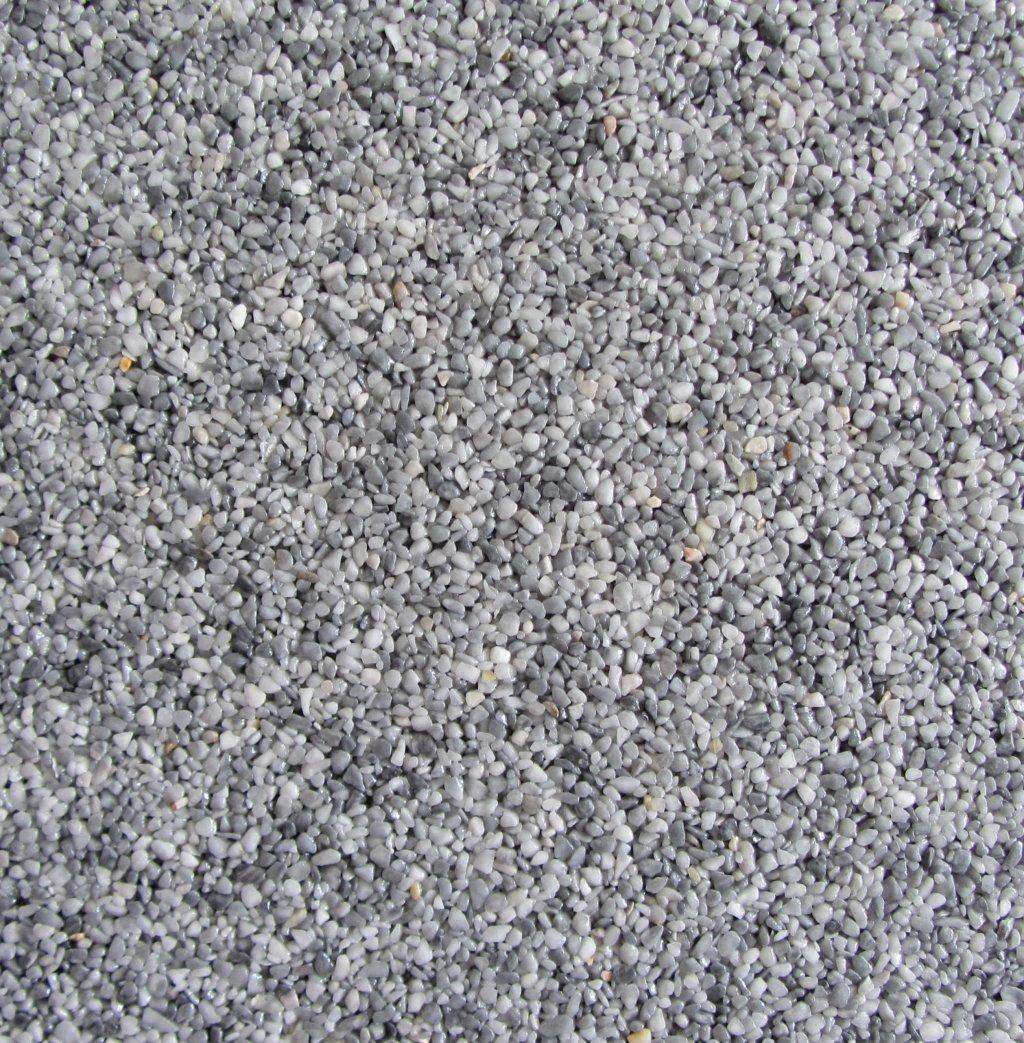 Gravel Marble - světle šedá (Bardiglio) - Frakce 3/5