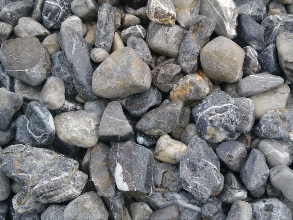 Gravel Devon - hnědošedá - A4D