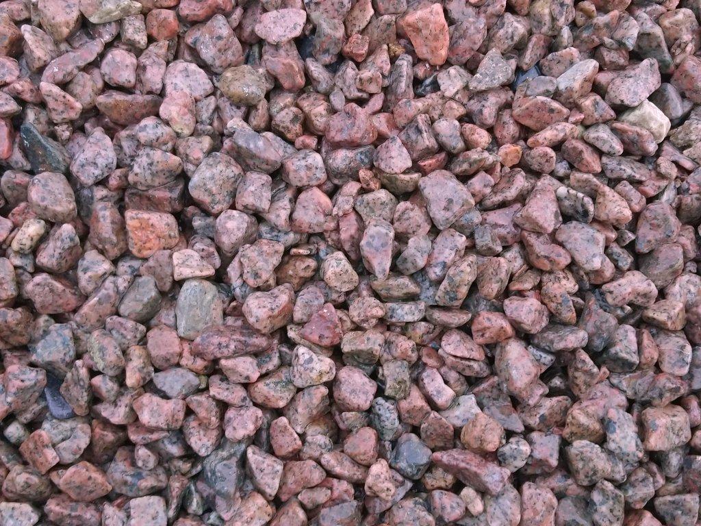 Gravel Granite - červenošedá - G1D