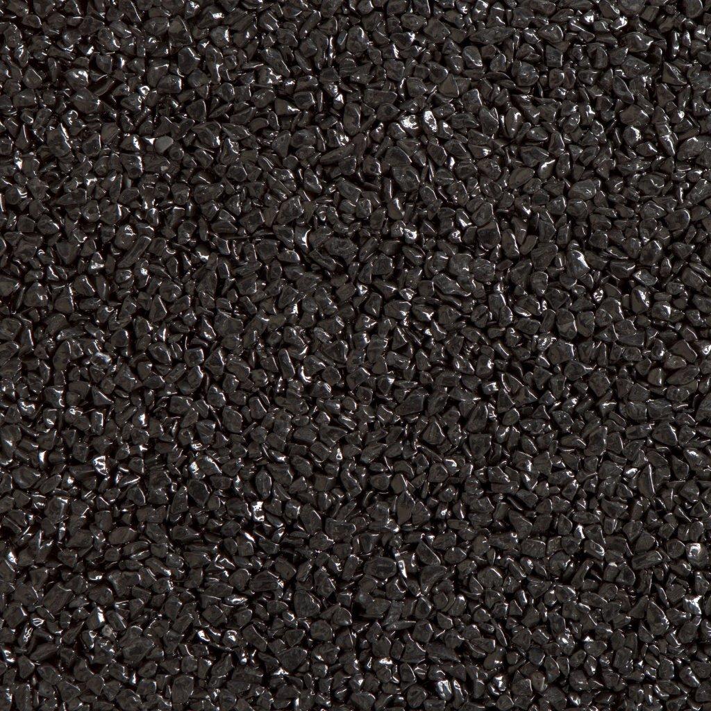 Gravel Marble - ebenově černá (Nero Ebano) - Frakce 5/8
