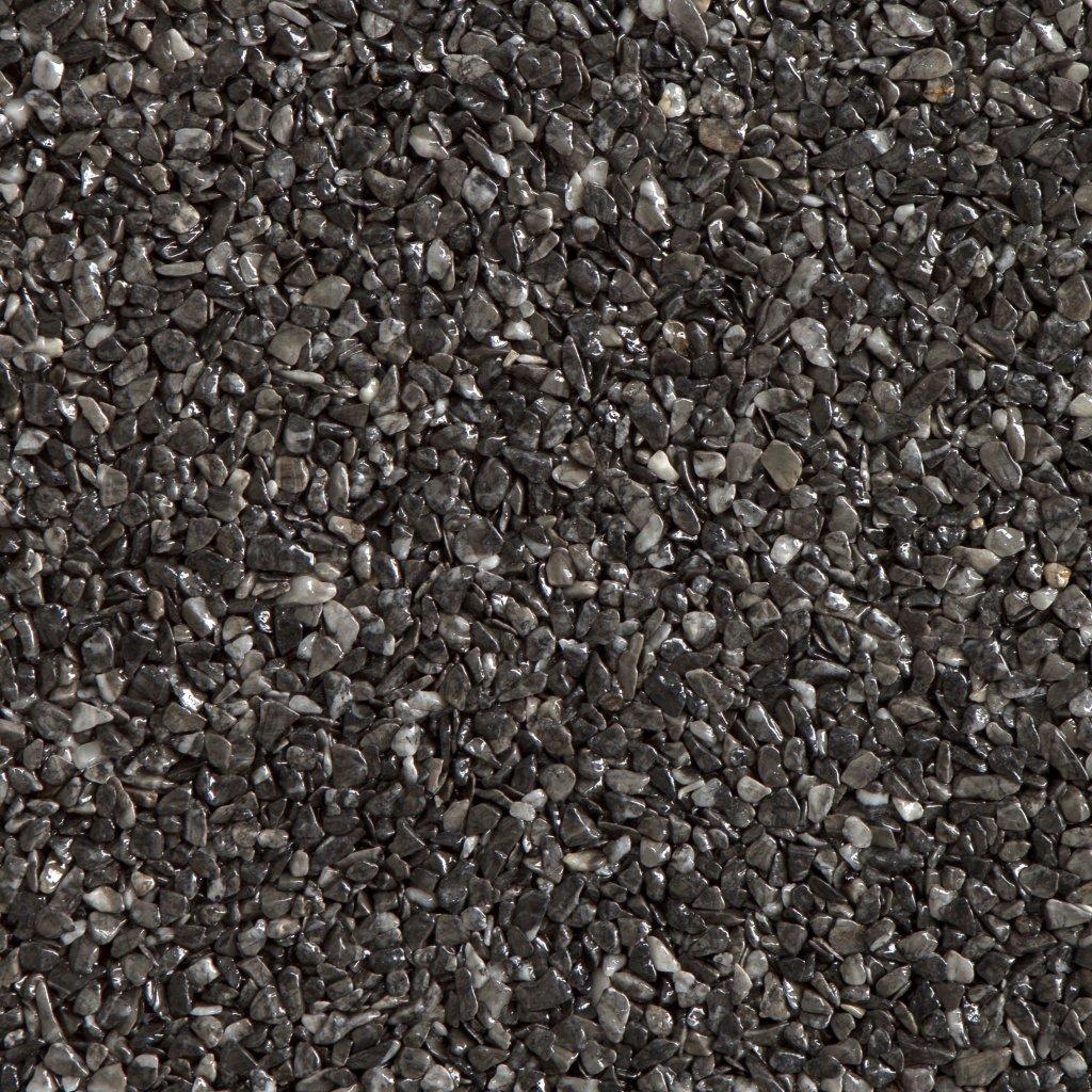 Gravel Marble - tmavě šedá (Grigio Carnico) - Frakce 5/8