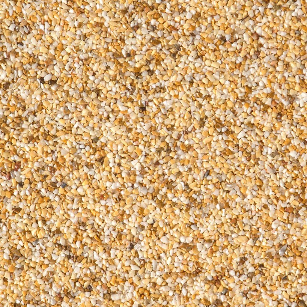 Gravel Marble - žlutobílá (Giallo Siena) - Frakce 3/5