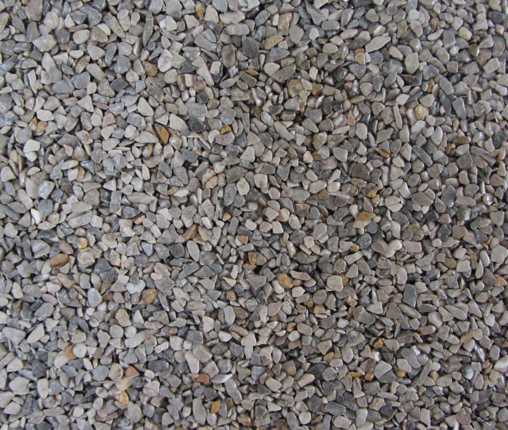 Gravel Marble - šedobéžová (Occhialino) - Frakce 5/8